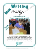 Differentiated Writing Lesson: Write to Inform about a Too