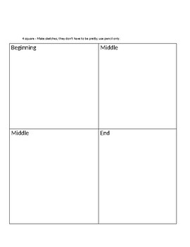 Differentiated Writing Outlines