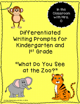 Differentiated Writing Prompt