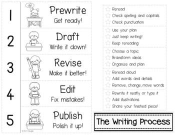 Writing Resource Notebook (Differentiated and in 3 Formats!)