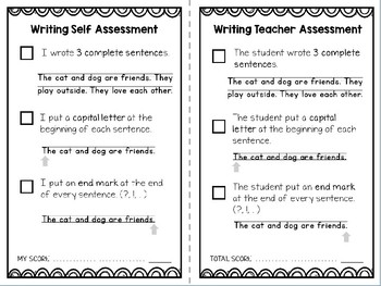 Differentiated Writing Rubrics