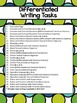 Differentiated Writing Tasks for any Novel {Secondary English}