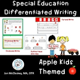 Differentiated Writing with CVC words for Special Educatio