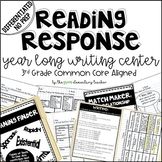 Differentiated Year Long Reading Response Writing Center