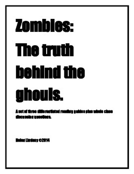 Differentiated Zombie Readings and Discussion