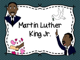 Martin Luther King Jr. Differentiated Activities