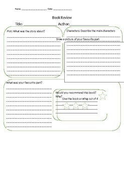 Differentiated book reviews