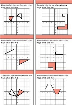 Rotations differentiated worksheets