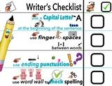 Differentiated writer's Checklist