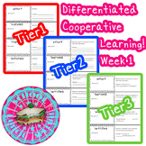 McGraw-Hill Wonders Differentiated Vocabulary Cards Unit 1 Week 1