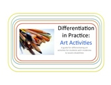 Differentiating Art Activities for Special Education: A Tu