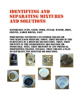 Differentiating Mixtures and Solutions