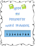 Differentiating between Area and Perimeter Word Problems