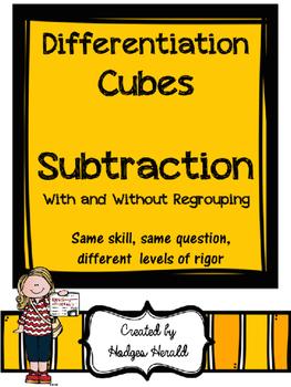 Differentiation Cube- Subtraction