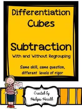 Differentiation Cube- Subtraction
