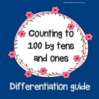 Differentiation Guide: Counting to 100 by tens and ones