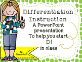 Differentiation Instruction (SHAKE IT UP!) BEL10003