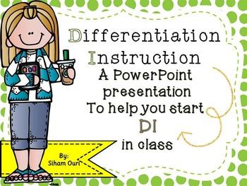 Differentiation Instruction (SHAKE IT UP!) BEL10003
