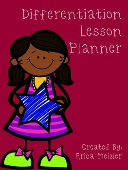 Differentiation Lesson Planner *FREE*