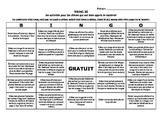 Differentiation / RtI Activity - En Francais