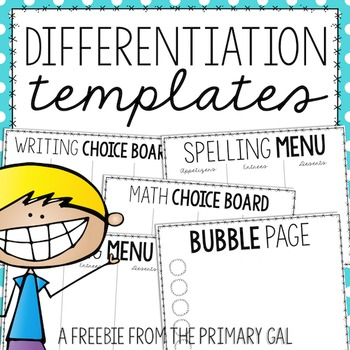 Differentiation Templates