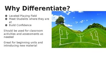 Differentiation: What is it? How do I do it?