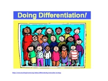Differentiation and grouping