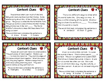 Differentiation to the Core-Context Clues