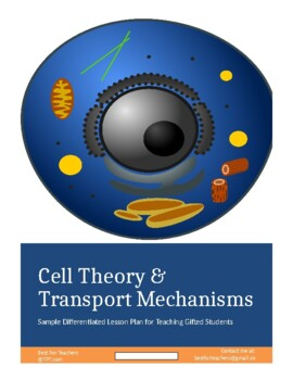 Differrentiated Lesson Plan for Gifted Cell Transport Mechanisms