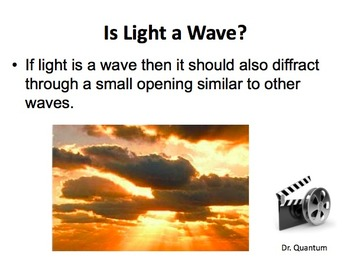 Diffraction and interference of waves - A Physics PowerPoint Package