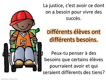 Différents élèves, différents besoins - Teach About Student Adaptations French