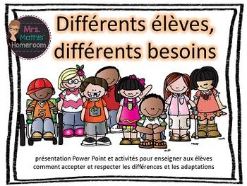 Différents élèves, différents besoins - Teach About Studen
