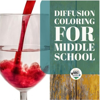 Diffusion Coloring for Middle School