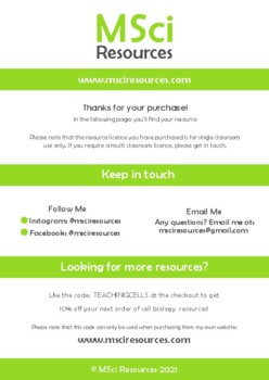 Diffusion Doodle Review Middle School Biology