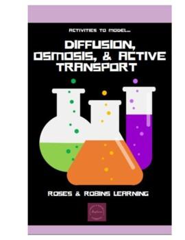 Diffusion, Osmosis, Active Transport