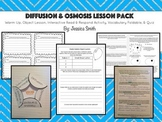 Diffusion & Osmosis Lesson Pack