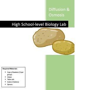 Diffusion and Osmosis Lab