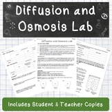Diffusion and Osmosis Lab