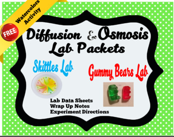 Diffusion and Osmosis Lab Packets