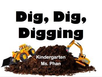 Dig, Dig, Digging Amazing Words PPT