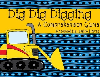 Dig Dig Digging Comprehension Game