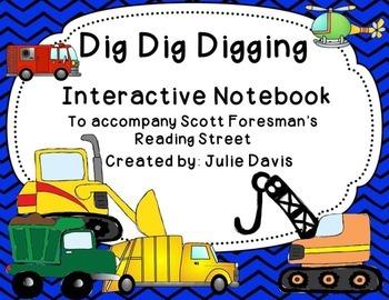 Dig Dig Digging Interactive Notebook Journal