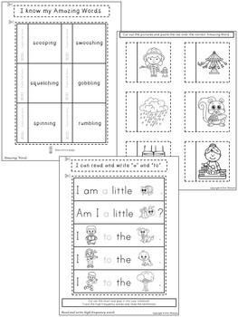 Dig Dig Digging Interactive Notebook ~ Reading Street Kindergarten