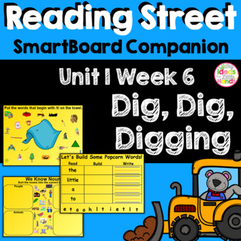 Dig Dig Digging SmartBoard Companion Kindergarten