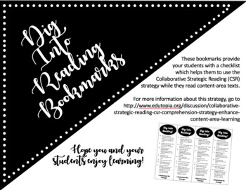 Dig Into Reading Bookmarks -- Editable