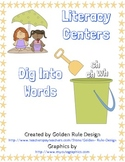 Digraph Literacy Centers sh, wh, ch
