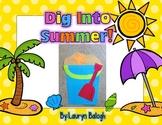 Dig Into Summer: Summer Craftivity Pack