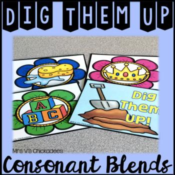 Consonant Blends Hands On Game & Center
