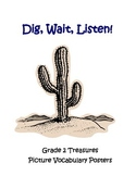 Dig, Wait, Listen Picture Vocabulary Posters