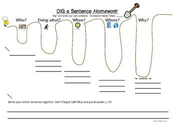 Dig a Sentence